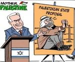 """""""Vorschlag eines palästinenschen Staates """", von Carlos Latuff"""