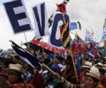 Evo Morales manifestacion