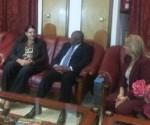 Vicepresidenta cubana en Africa