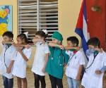 niños jardines cuba