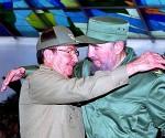 Raul y Fidel